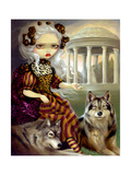 Loup-Garou: Le Temple Photographic Print by Jasmine Becket-Griffith
