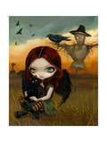 The Scarecrow Photographic Print by Jasmine Becket-Griffith