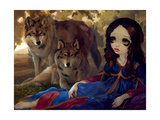 I Vampiri: I Lupi Photographic Print by Jasmine Becket-Griffith
