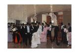 Altercation dans les couloirs de l'Opéra, 1889 Giclee Print by Jean Béraud