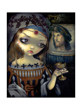 I Vampiri: Lucrezia Borgia Photographic Print by Jasmine Becket-Griffith