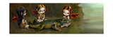 Befriending an Alligator Photographic Print by Jasmine Becket-Griffith