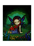 Dragonling Garden I Posters by Jasmine Becket-Griffith