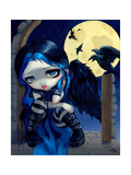 The Whispered Word Lenore Photographic Print by Jasmine Becket-Griffith