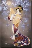 Yoi Stretched Canvas Print by Haruyo Morita