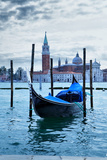 Gondola near Saint Mark Square at Morning - Venice, Italy Photographic Print by  Zoom-zoom