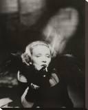 Marlene Dietrich II Stretched Canvas Print