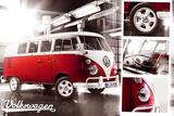 VW Camper - Split Screen Posters