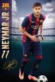 Barcelona - Neymar 14/15 Poster
