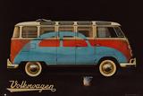 VW Camper Paint - Advert - Poster