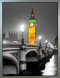 Big Ben Framed Canvas Print