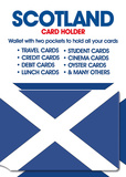 Scotland - Real Men Card Holder Novelty