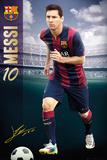 Barcelona - Messi 14/15 Plakaty