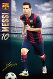 Barcelona - Messi 14/15 Kunstdruck