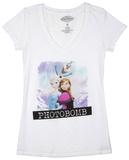 Juniors: Frozen - Photo Bomb Shirts