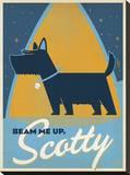 Beam Me Up Scotty Impressão em tela esticada por  Anderson Design Group