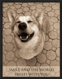 Smile and the World Smiles with You Prints by Jim Dratfield
