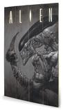 Alien - Head on Tail Treskilt