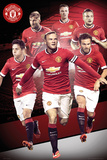 Manchester United - Players 14/15 Affiches