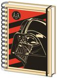 Star Wars - Vader Red A5 Notebook Journal