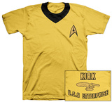Star Trek - Kirk Uniform Costume Tee Vêtement