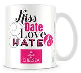 Made In Chelsea - Kiss Date Love Hate Mug Mug