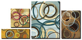 Circle Abstract Prints by Jeni Lee