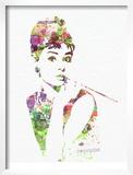 Audrey Hepburn 2 Posters by  NaxArt