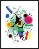 Pez cantando Lámina por Joan Miró