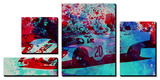 Porsche 917 Gulf Art by  NaxArt