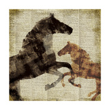 Horses I Giclee Print by Dan Meneely