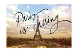 Paris is Calling Giclee Print by Emily Navas