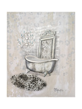 Antique Mirrored Bath II Premium Giclee Print by Tiffany Hakimipour