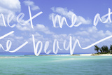 Meet me at the Beach Photographic Print by Susan Bryant
