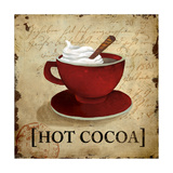 Hot Cocoa Giclee Print by Elizabeth Medley