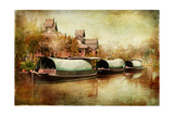 Pictorial Thailand - Artwork in Painting Style Prints by  Maugli-l