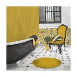 Sundance Bath I (Yellow) Giclee Print by Elizabeth Medley