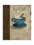 Le Café Premium Giclee Print by Elizabeth Medley