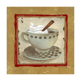 Golden Coffee I Giclee Print by Elizabeth Medley
