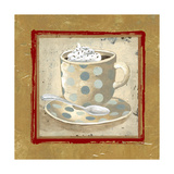 Golden Coffee II Giclee Print by Elizabeth Medley