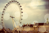 London Ferris Wheel Photographic Print by Emily Navas