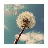 Life is Beautiful Premium Giclee Print by Gail Peck