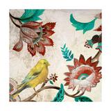 Bird of Capri I Exklusivt gicléetryck av Lanie Loreth