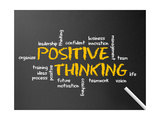 Positive Thinking Prints by  kbuntu
