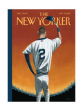 Derek Jeter Bows Out - The New Yorker Cover, September 8, 2014 Regular Giclee Print by Mark Ulriksen