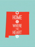 Home Is Where The Heart Is - New Mexico Print