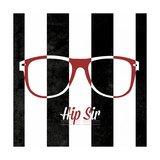 Hip Glasses II Premium Giclee Print by  SD Graphics Studio