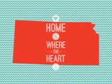 Home Is Where The Heart Is - Kansas Art