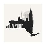 New York Skyline Giclee Print