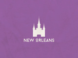 New Orleans Minimalism Posters